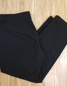 Eileen Fisher Black strechy pants